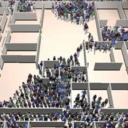 Crowd and multi-agent simulation